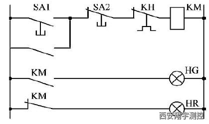图11.1交流异步电动机直接启动控制电路图