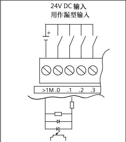 plc接线图画法